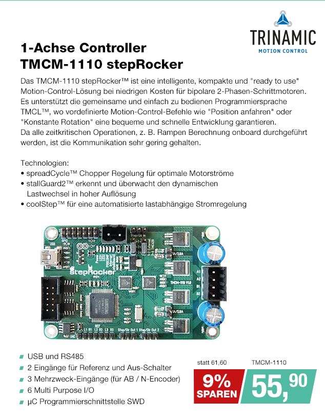 Artikel: TMCM-1110; EUR 71.60