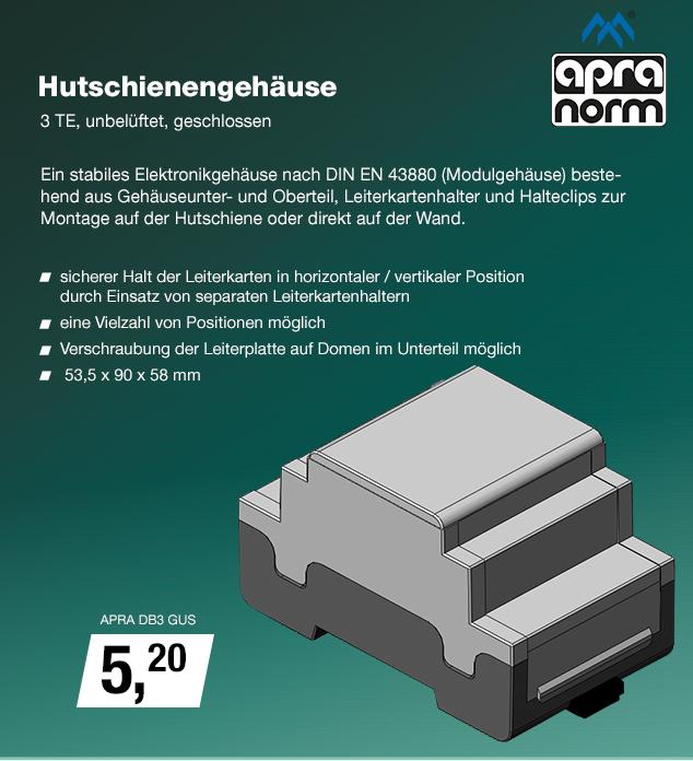 Artikel: APRA DB3 GUS; EUR 5.20