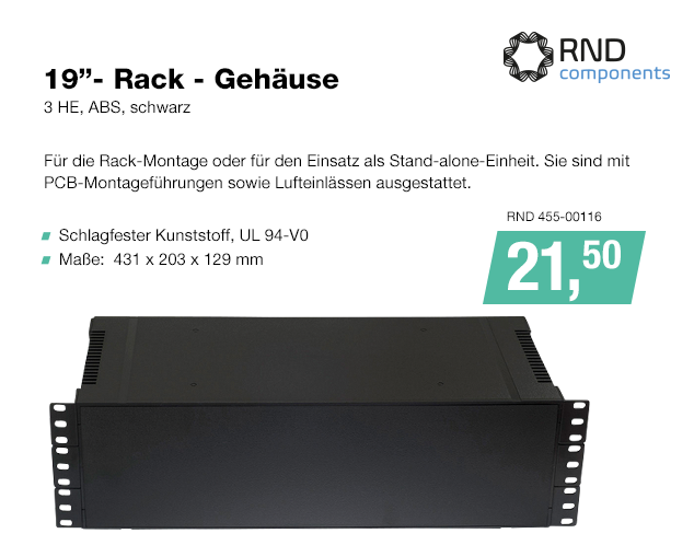 Artikel: RND 455-00116; EUR 19.90