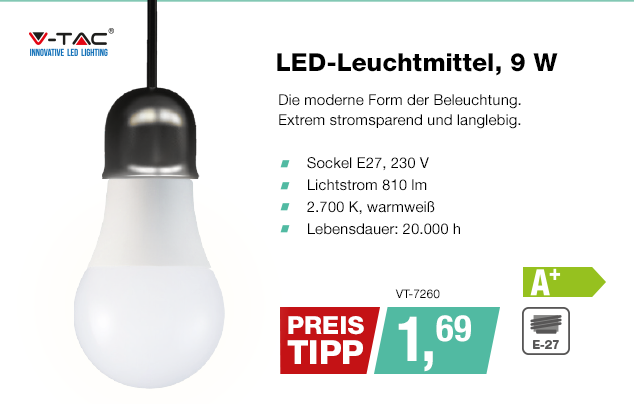 Artikel: VT-7260; EUR 0.99