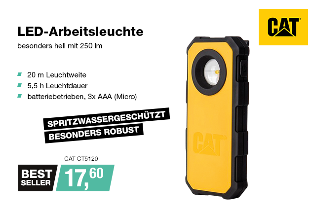 Artikel: CAT CT5120; EUR 16.95
