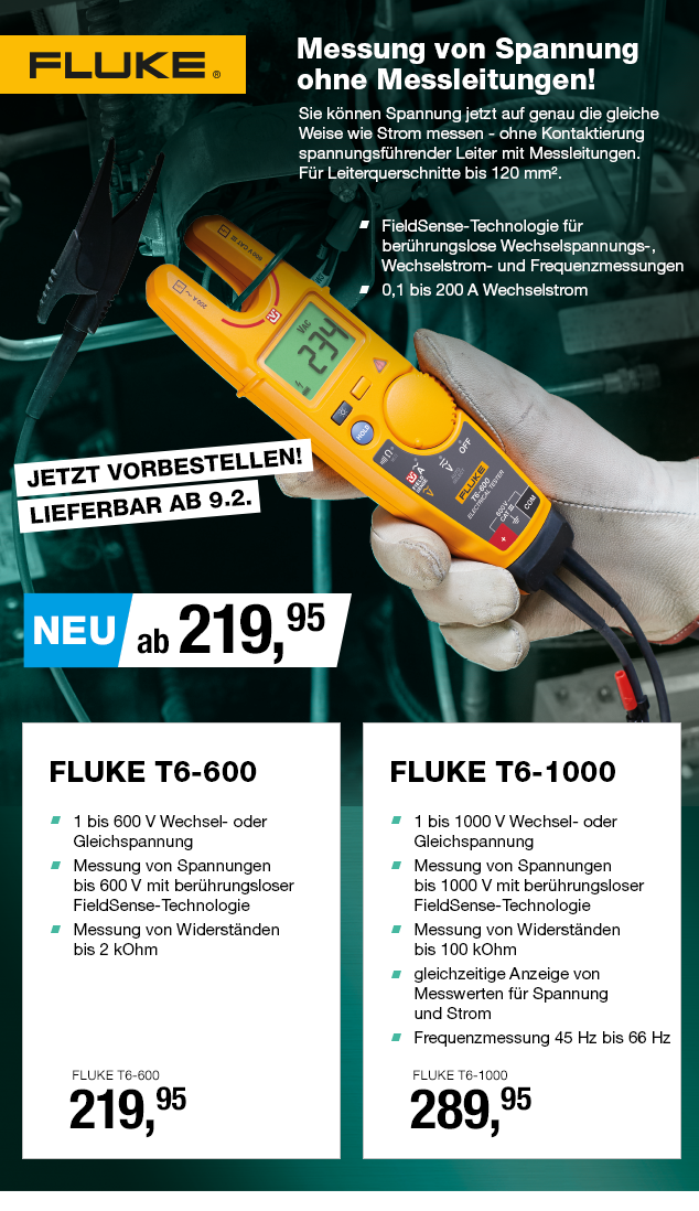 Artikel: FLUKE T6-1000; EUR 289.95