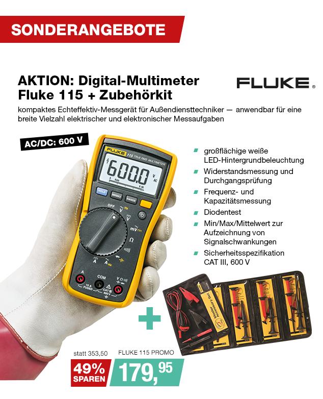 Artikel: FLUKE 115 PROMO; EUR 179.95