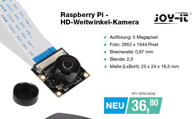 Artikel: RPI WWCAM2; EUR 36.80