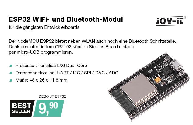 Artikel: DEBO JT ESP32; EUR 9.99