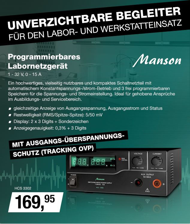 Artikel: HCS 3302; EUR 184.00