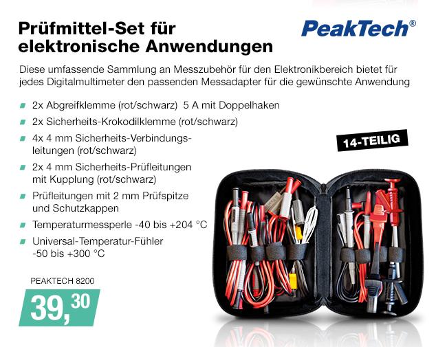Artikel: PEAKTECH 8200; EUR 39.99