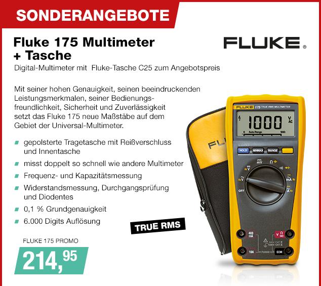 Artikel: FLUKE 175 PROMO; EUR 214.95