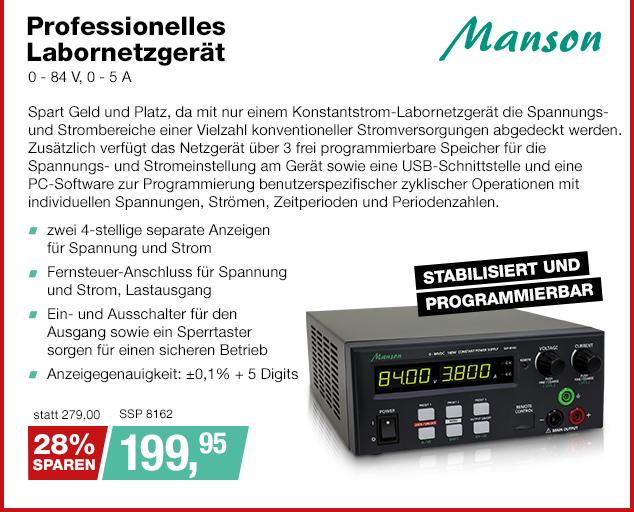 Artikel: SSP 8162; EUR 279.00