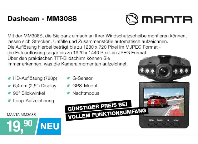 Artikel: MANTA MM308S; EUR 19.90