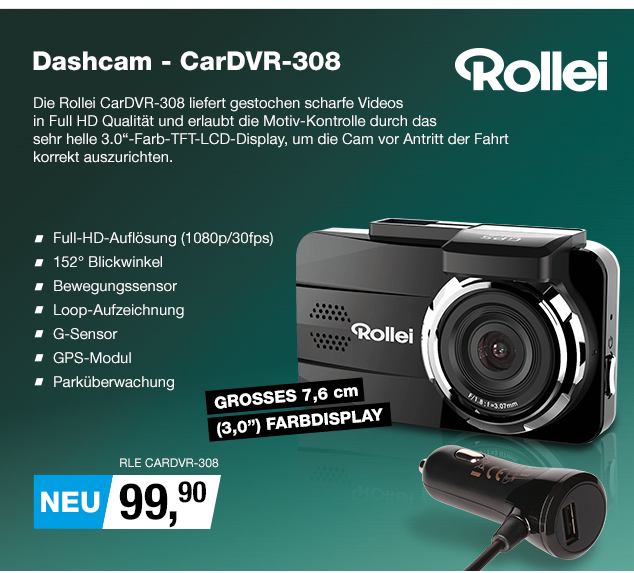 Artikel: RLE CARDVR-308; EUR 99.90