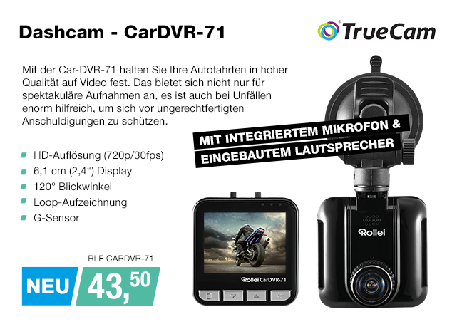 Artikel: RLE CARDVR-71; EUR 43.50