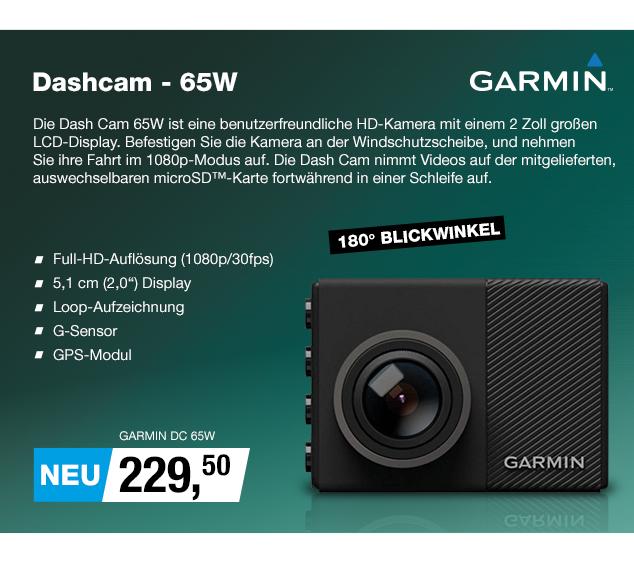 Artikel: GARMIN DC 65W; EUR 229.50