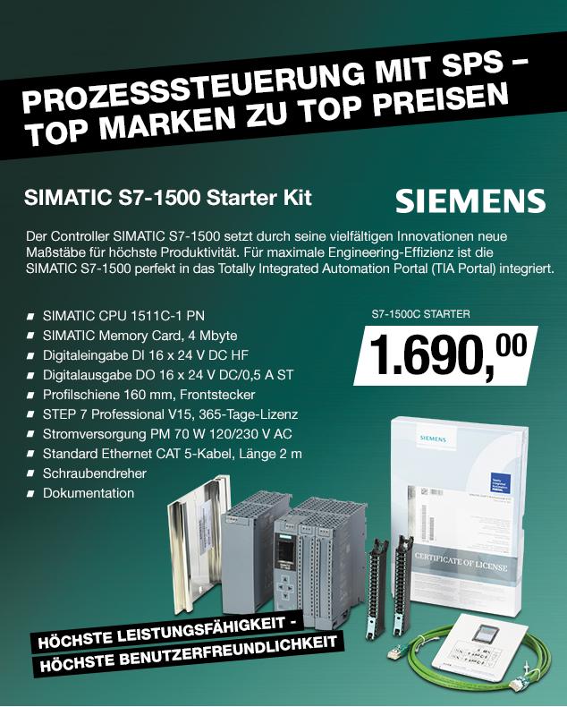 Artikel: S7-1500C STARTER; EUR 1690.00