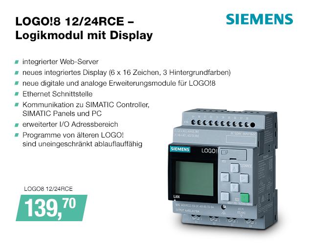 Artikel: LOGO8 12/24RCE; EUR 146.90