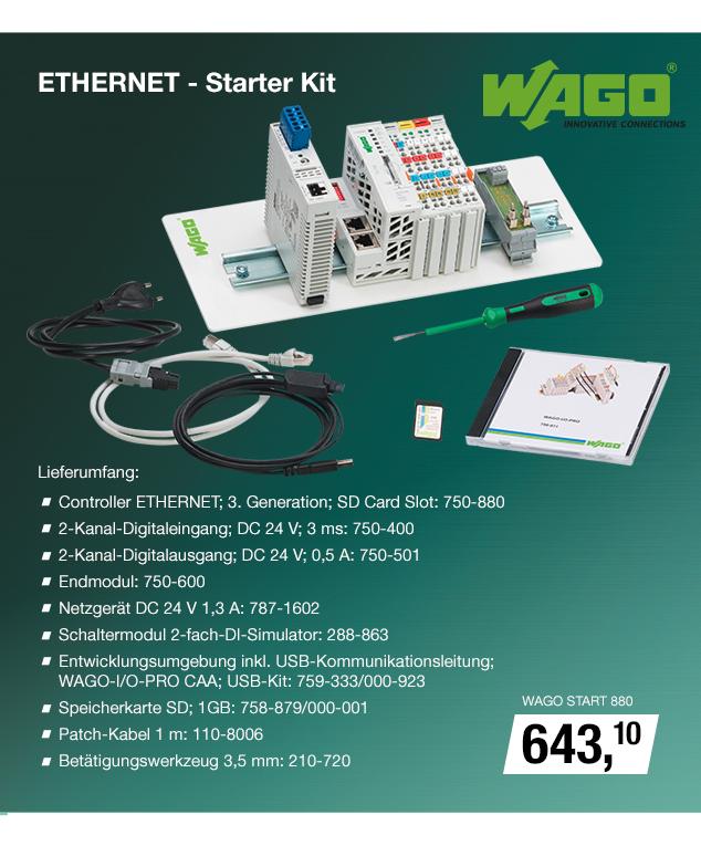 Artikel: WAGO START 880; EUR 676.95
