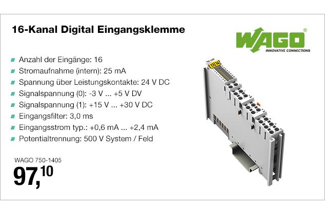 Artikel: WAGO 750-1405; EUR 97.10