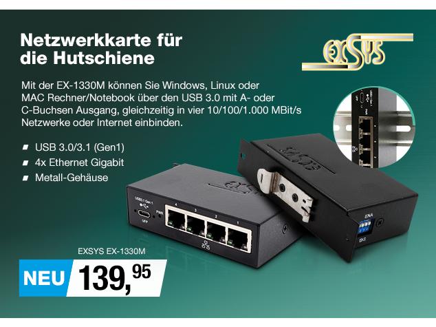 Artikel: EXSYS EX-1330M; EUR 139.95