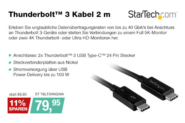 Artikel: ST TBLT3MM2MA; EUR 89.90