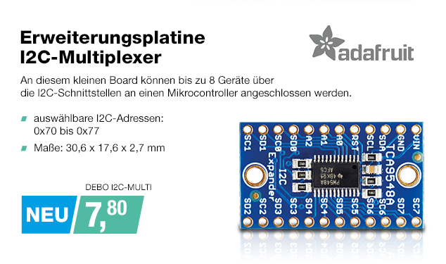 Artikel: DEBO I2C-MULTI; EUR 7.80