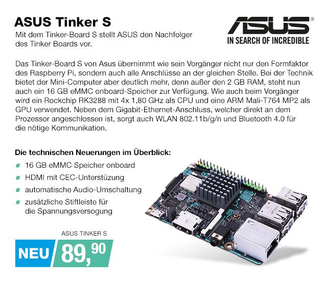 Artikel: ASUS TINKER S; EUR 88.90