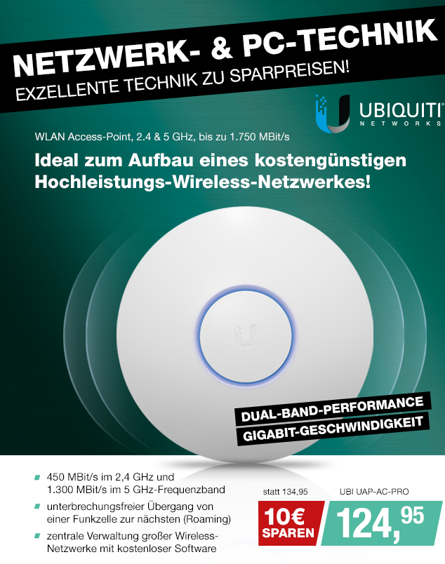 Artikel: UBI UAP-AC-PRO; EUR 129.95