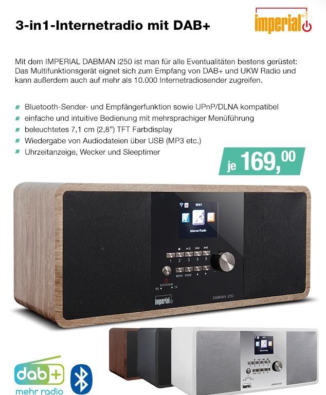 Artikel: DABMAN I250HO; EUR 164.95