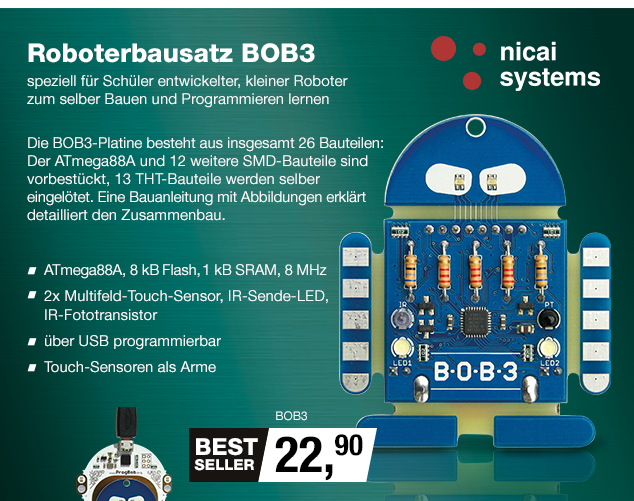 Artikel: BOB3; EUR 23.25