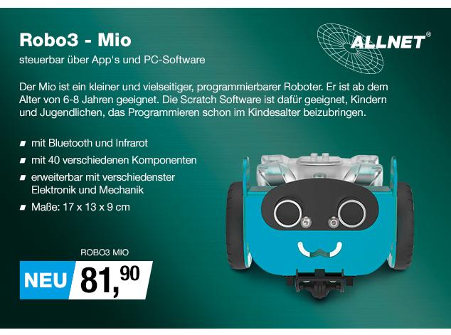 Artikel: ROBO3 MIO; EUR 81.90