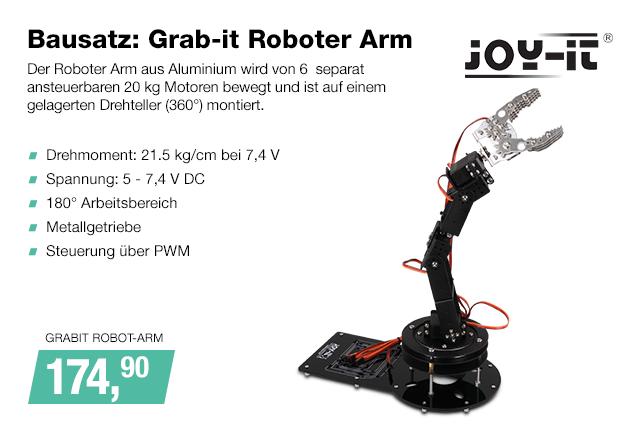 Artikel: GRABIT ROBOT-ARM; EUR 174.90
