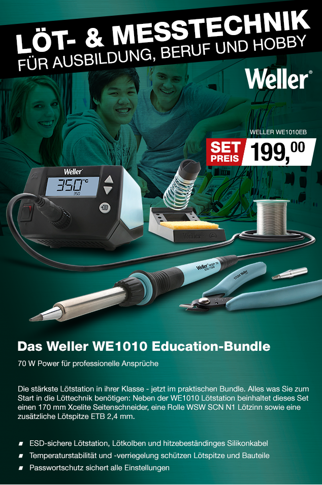 Artikel: WELLER WE1010EB; EUR 200.67