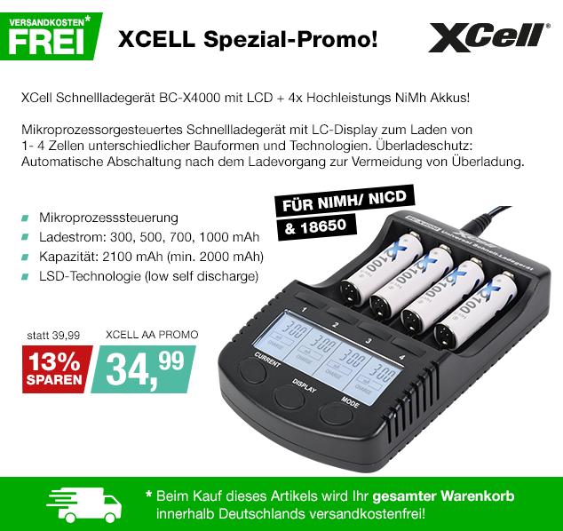 Artikel: XCELL AA PROMO; EUR 35.28