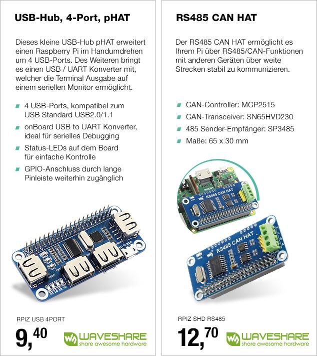 Artikel: RPIZ USB 4PORT;; EUR 9.