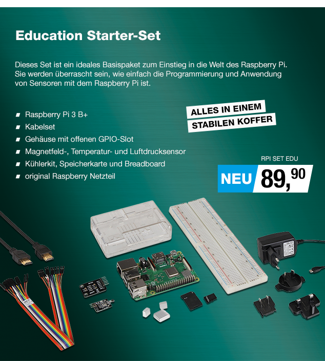 Artikel: RPI SET EDU; EUR 79.90
