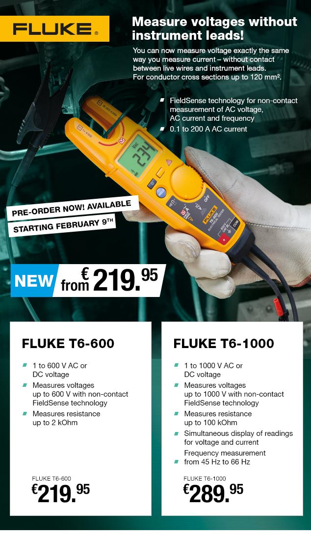 Artikel: FLUKE T6-1000; EUR 278.10