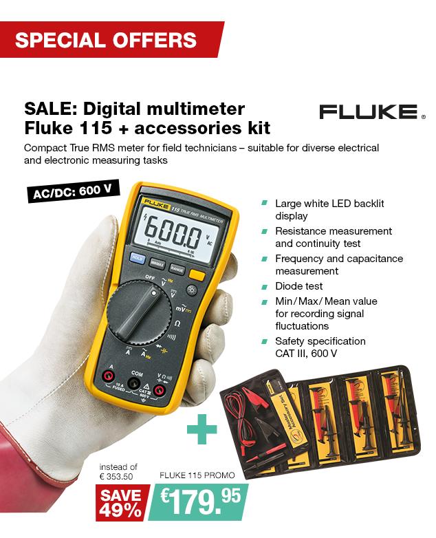 Artikel: FLUKE 115 PROMO; EUR 359.44