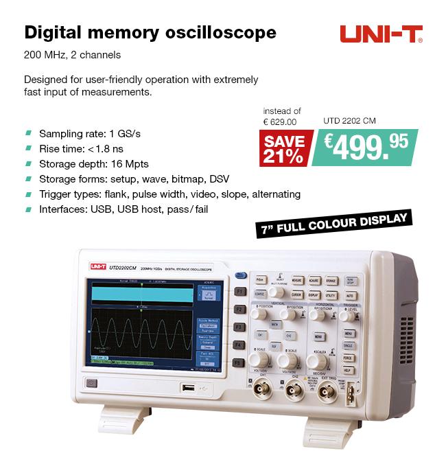 Artikel: UTD 2202 CM; EUR 559.19