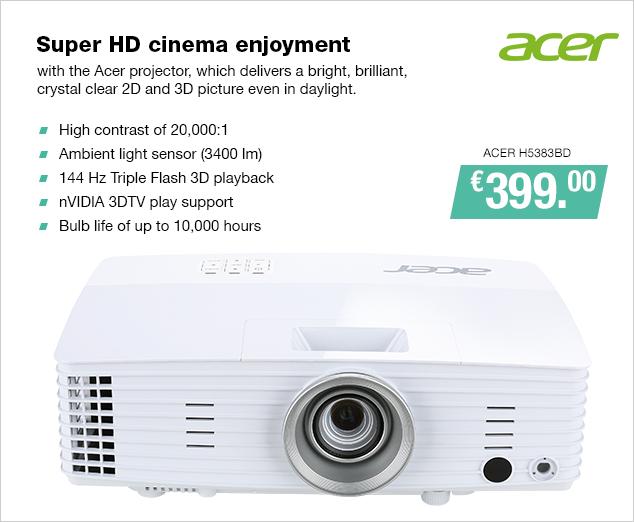 Artikel: ACER H5383BD; EUR 399.00