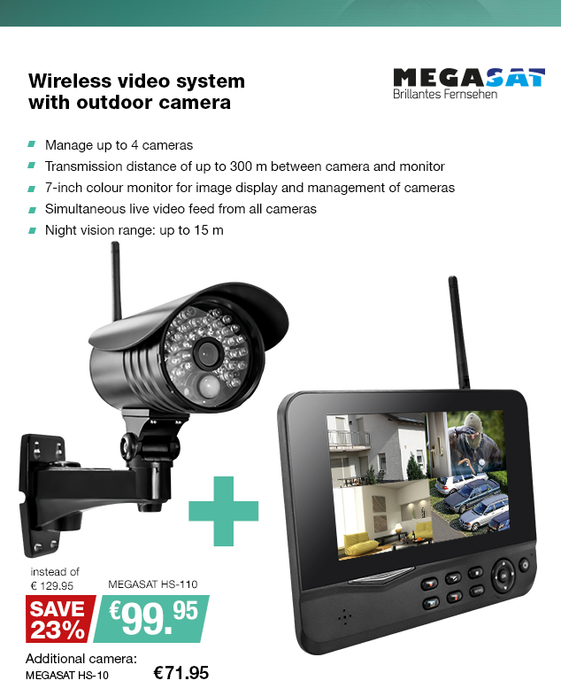 Artikel: MEGASAT HS-110; EUR 99.95