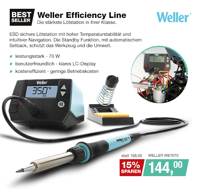 Artikel: WELLER WE1010; EUR 168.95