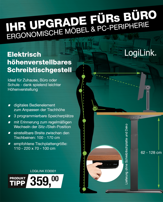 Artikel: LOGILINK EO0001; EUR 359.00