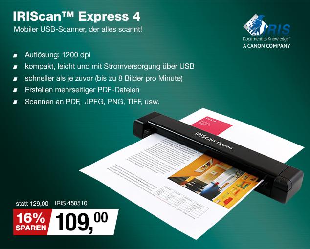 Artikel: IRIS 458510; EUR 129.00