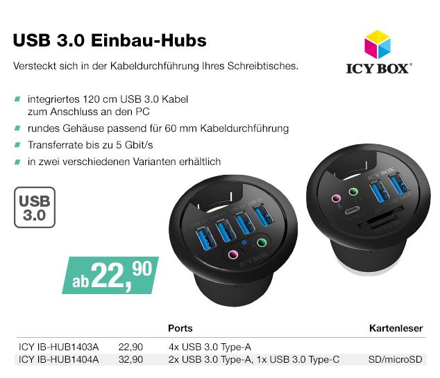 Artikel: ICY IB-HUB1403; EUR 17.90