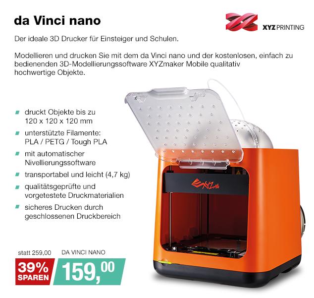 Artikel: DA VINCI NANO; EUR 150.00