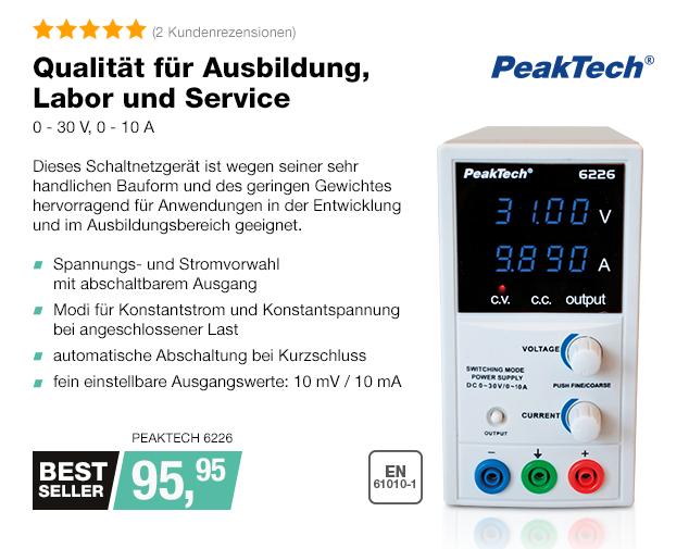 Artikel: PEAKTECH 6226; EUR 95.95