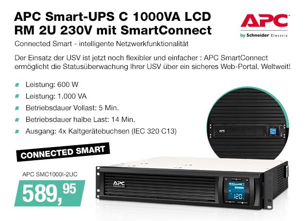 Artikel: APC SMC1000I-2UC; EUR 589.95