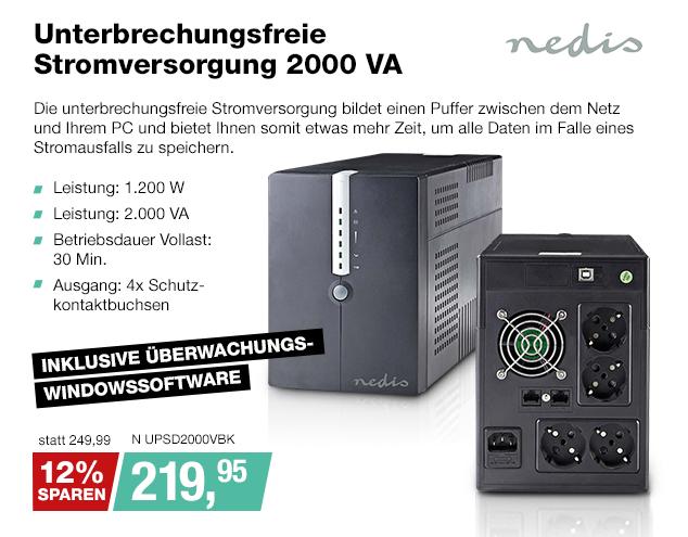 Artikel: N UPSD2000VBK; EUR 249.99