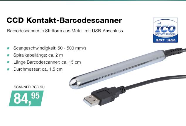 Artikel: SCANNER BCD 5U; EUR 87.95