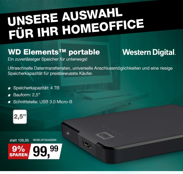 Artikel: WDBU6Y0040BBK; EUR 109.95