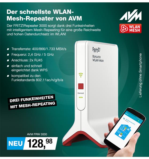 Artikel: AVM FRW 3000; EUR 128.90